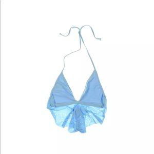 NWT- L*Space Ruffle Bikini Top